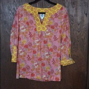 Ivy Jane colorful blouse